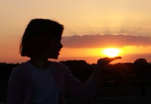 sun in your hand